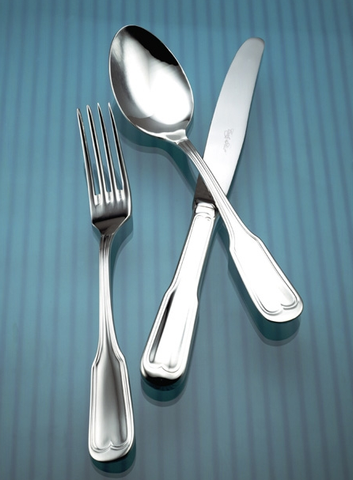 Gotico Mirror Finish Stainless Steel Flatware Collection, Corby Hall