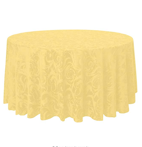 Melrose Damask Linen Roll/Fabric