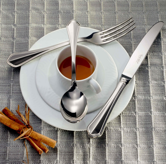 Portofino 18/10 Flatware, Mirror Finish, Contemporary Style, Corby Hall 3200