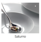 Saturno Bright White Porcelain Dinnerware Collection