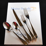 Troon Premium Stainless Steel Flatware 20-Piece Set for 4, Corby Hall