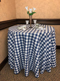 Checkpoint Linen Tablecloth 1 Dz. pack