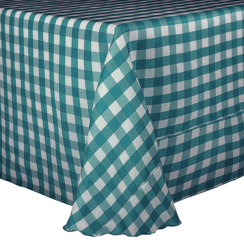 Polyester Check Linen Roll/Fabric