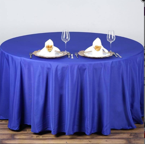 Basic Polyester Linen Tablecloths, 67 Colors, 1 Dz. Pack