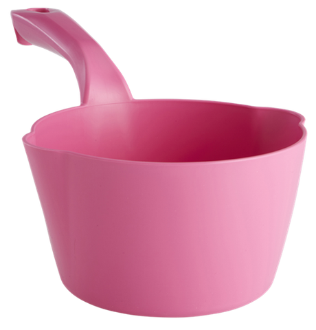 Durable Lightweight 64 oz. Dipping Bowl Scoop w/ Measuring Marks