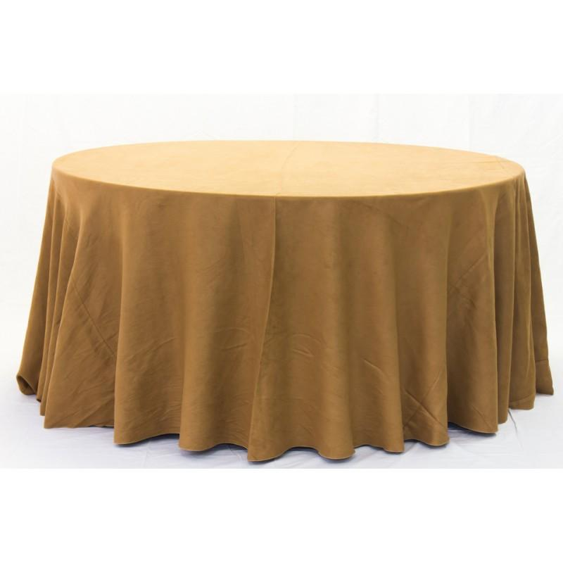 Micro Suede Linen Tablecloth 1 Dz.