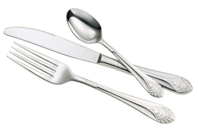 Chalet Classic 18/10 Stainless Steel Flatware Collection, Walco
