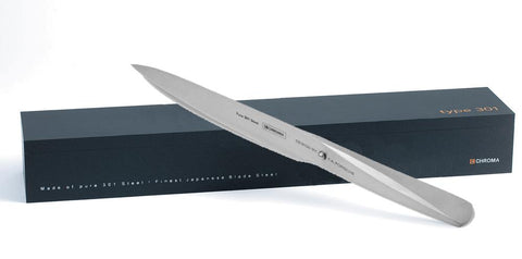 "Chroma Type 301 Carving Knife w/ 8"" Blade"