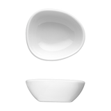 "Saturno Bright White Porcelain Small Dip Bowl 2 3/8"" x 2 1/8"""