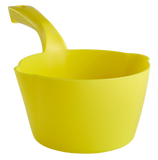 yellow round dipping bowl