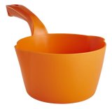 orange round dipping bowl