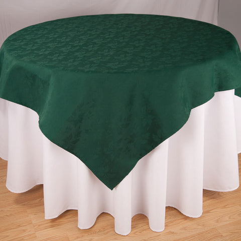 Premier Feather Leaf Damask Linen Tablecloth 1 Dz.