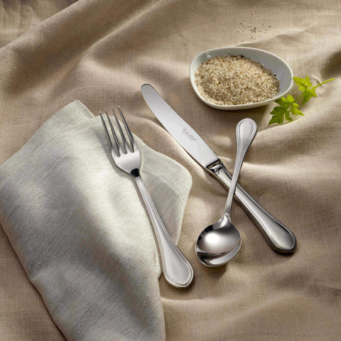 Classic Stainless Steel Flatware Collection, Corby Hall