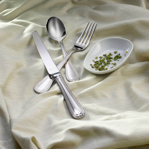 French Leaf 18/10  Flatware, Mirror Finish, Classic Style, Corby Hall K895
