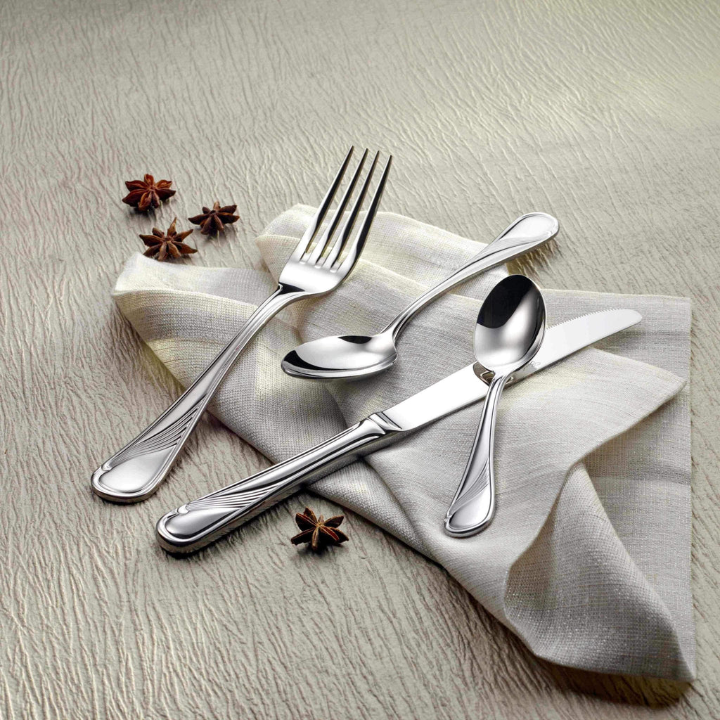Scala 18/10 Flatware, Mirror Finish, Classic Style, Corby Hall 0200