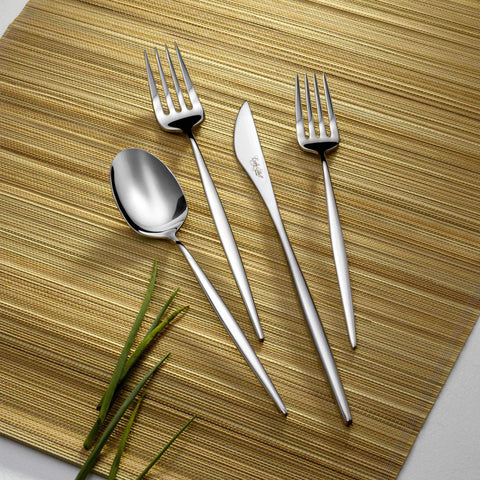 Spirit Stainless Steel  Premium 60-Piece Flatware Set for 12, Corby Hall