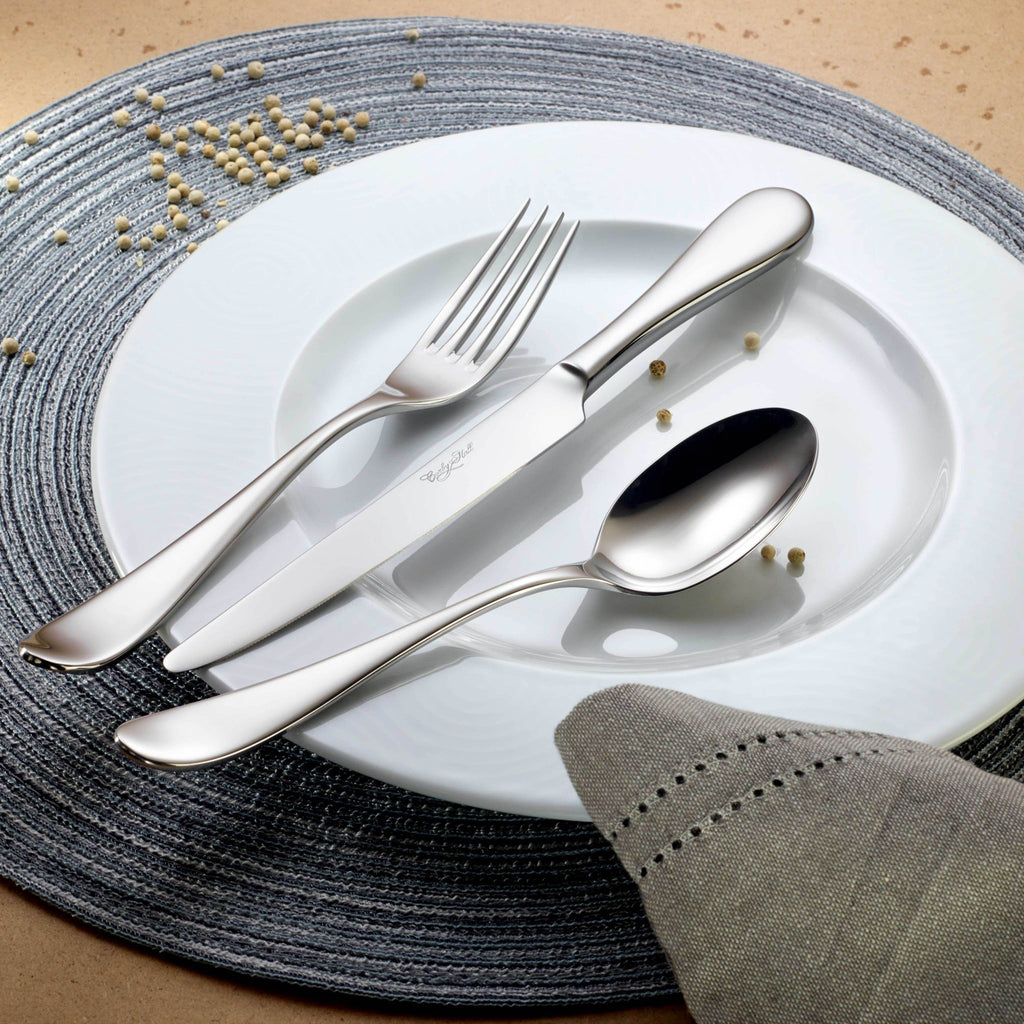 Troon Stainless Steel Flatware Collection, Corby Hall
