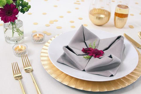 Twill Cotton Blend Napkins 5 Dz. Pack
