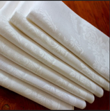 Cotton-blend beauty Damask table linens