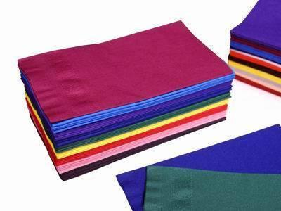 Colored 2-Ply Paper Napkins