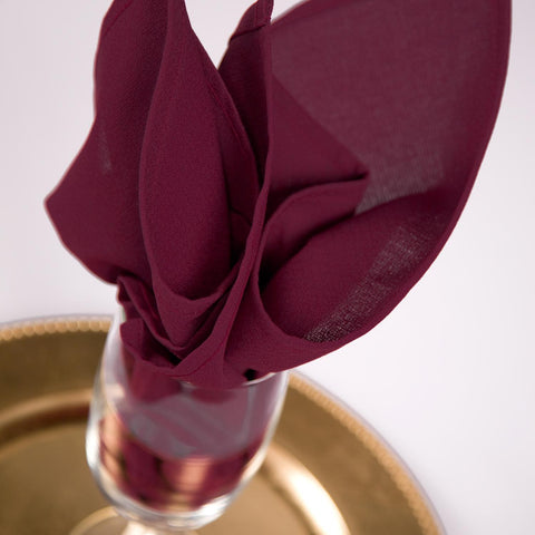 Permalux Solid Color Linen Napkin