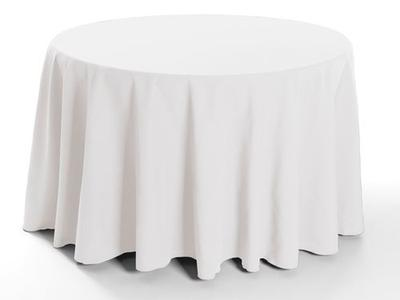 Ultimate Spun Polyester Linen Tablecloth 1 Dz.
