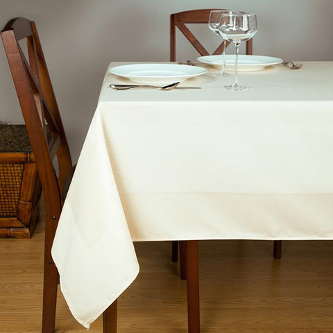 Satin Band Beauti-Damask Linen Tablecloth 1 Dz.