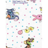 Restaurant Quality Children's Animals Vinyl Tablecloth Roll, F0223