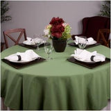 Ultimate Solid Color Cotton Blend Linen Tablecloth 1 Dz.