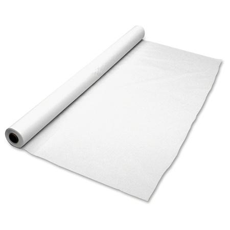 "White Heavy-Duty Plastic Banquet Roll - 40"" X 300'"