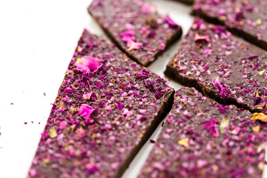 Rose Chocolate Love Bark Recipe
