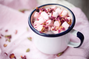 Rose and Cardamom Hot Chocolate