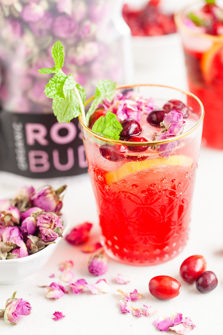 Cranberry Rose Spritzer