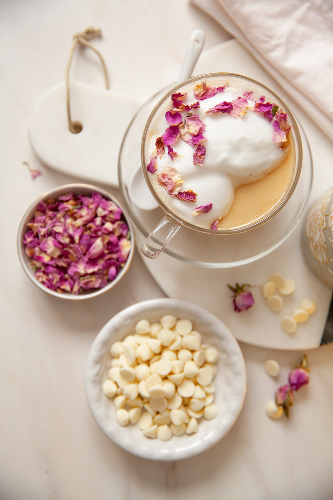 White Rose Mocha Latte