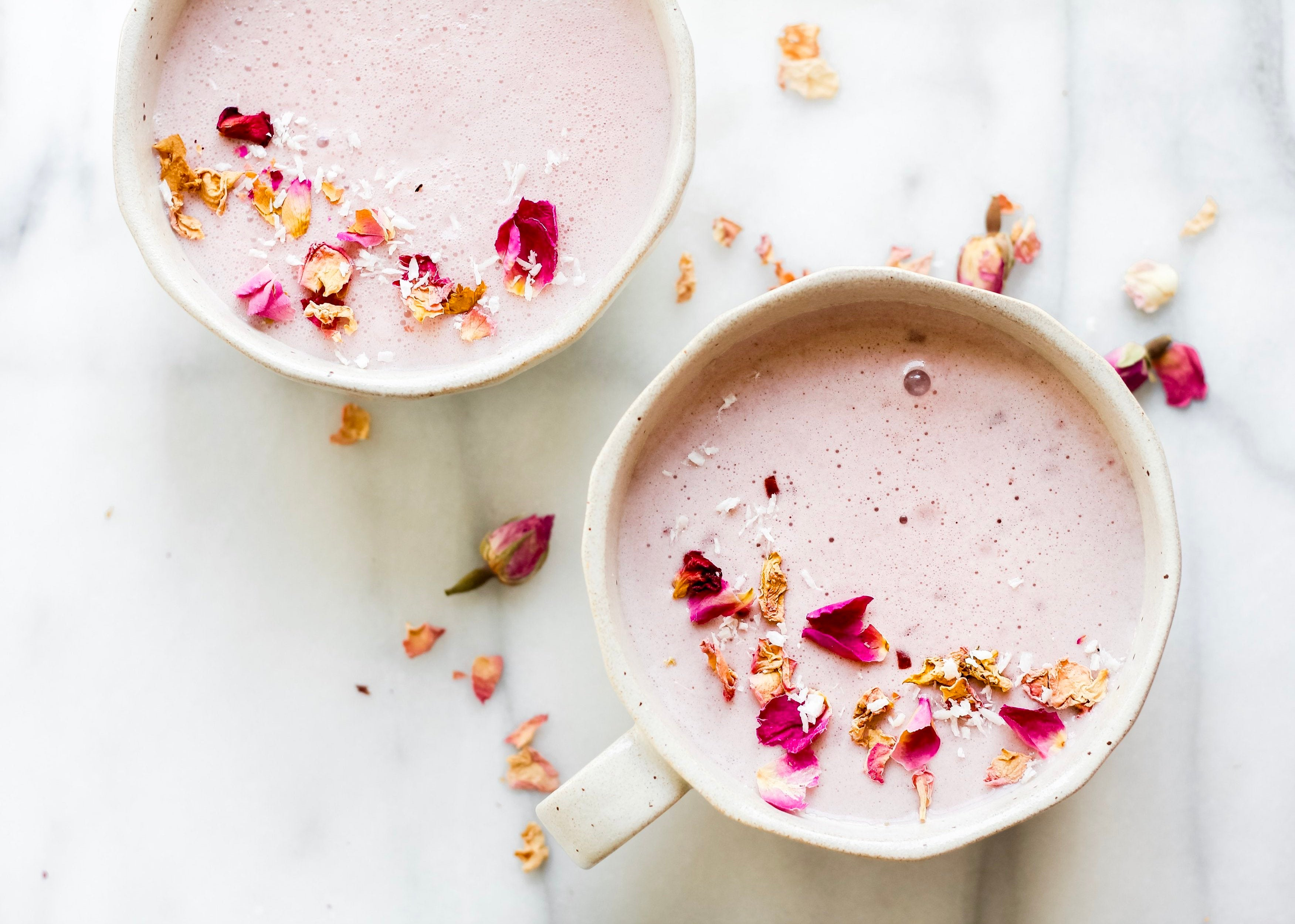 Rose+ Cherry Coconut Moon Milk Recipe