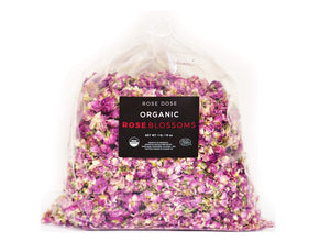 Organic Rose Blossoms (Bulk)