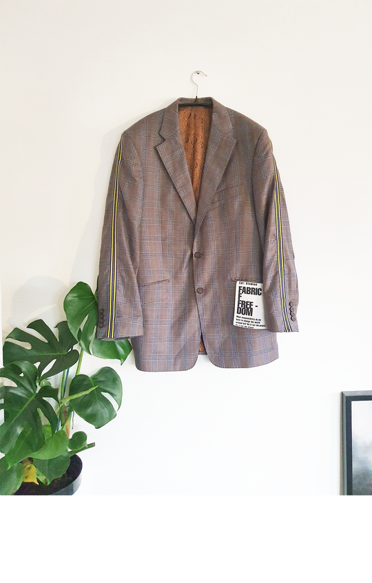 Upcycled Oversized Blazer