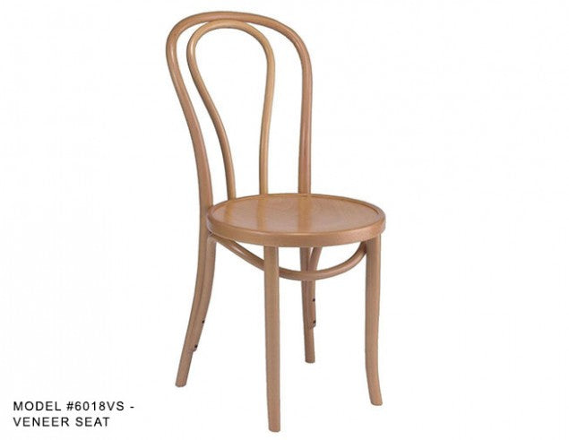 Hoop Back Bentwood Hair Pin Chair, MD6018