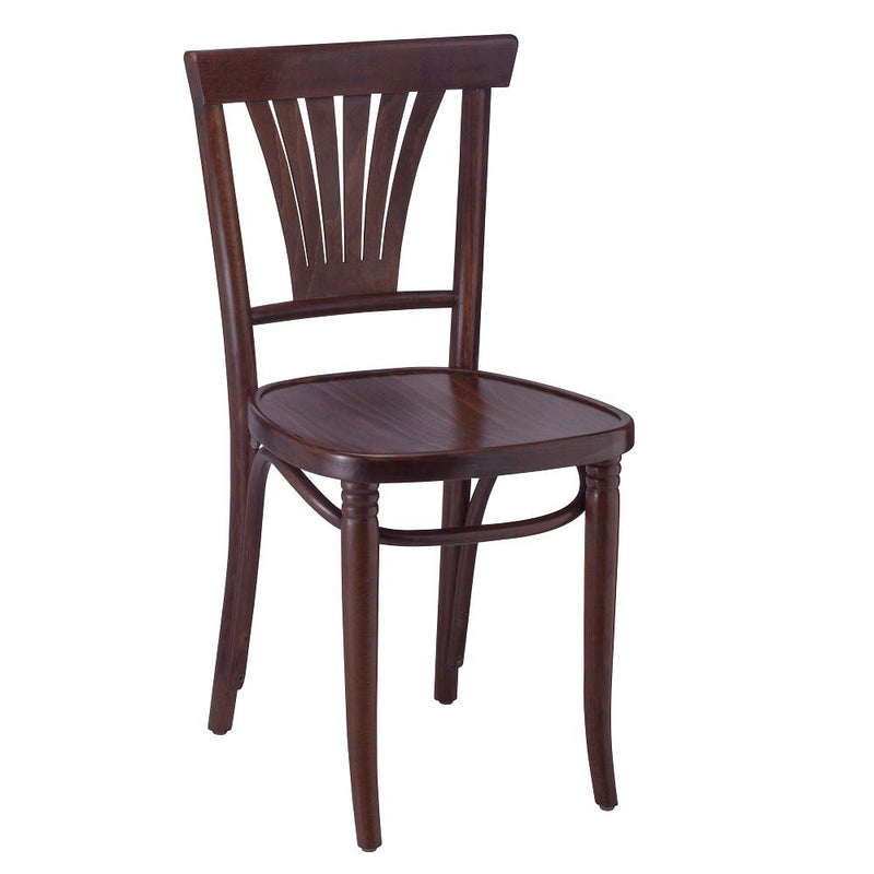 Bent-Fan Collection Bentwood Side Chair