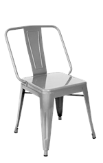 Iron Tolix-Style Dining Chair, ERF-13R/B/C