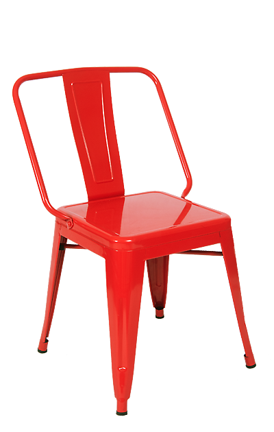 Iron Tolix Style Dining Chair, ERF 13R/B/C