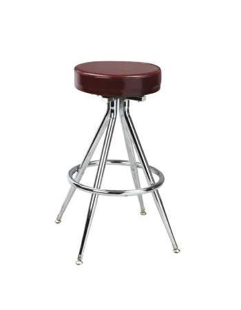 Classic Steel Swivel Stool w/ Footring, GA1446