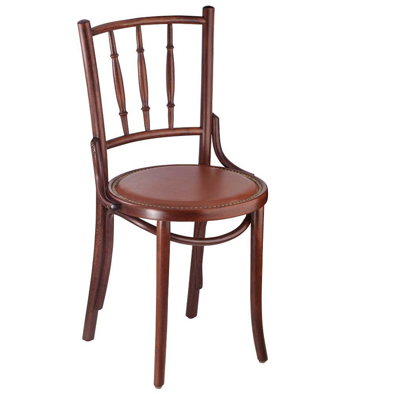Spindles Bentwood Side Chair