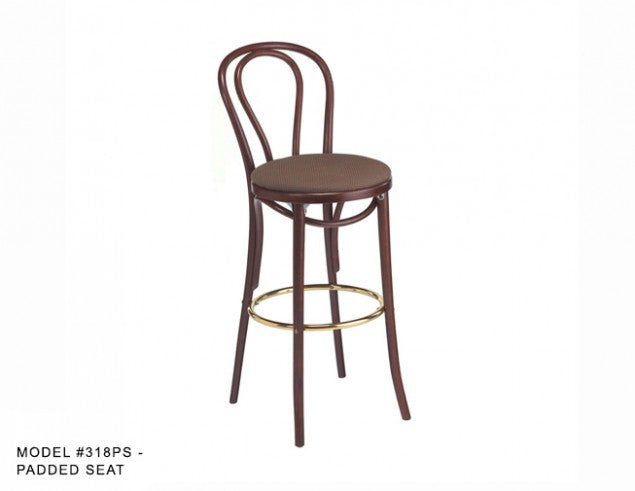 Hoop Back Bentwood Hair Pin Barstool, MD318