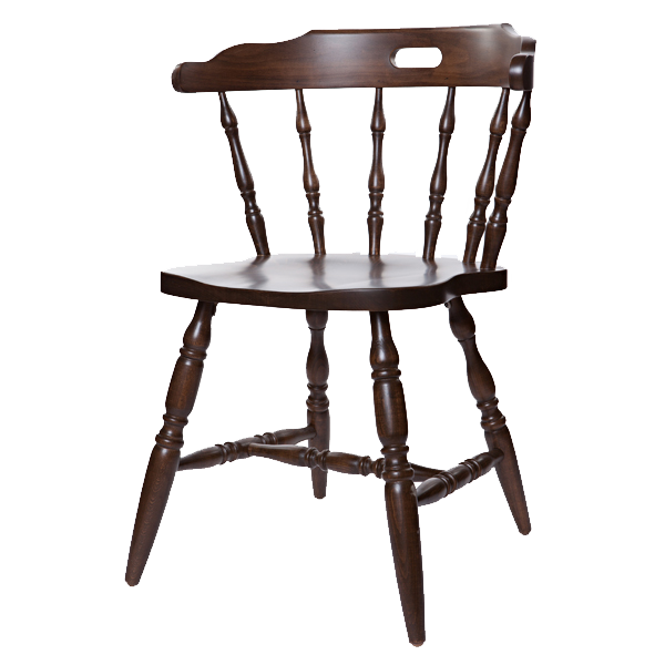 First Mates Early Colonial Era Style Chair Restaurant Furniture