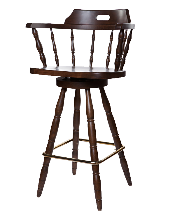 Early Colonial Era Style Captains Barstool OD210