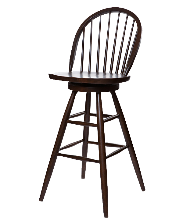 Early Colonial Style Windsor Barstool OD216
