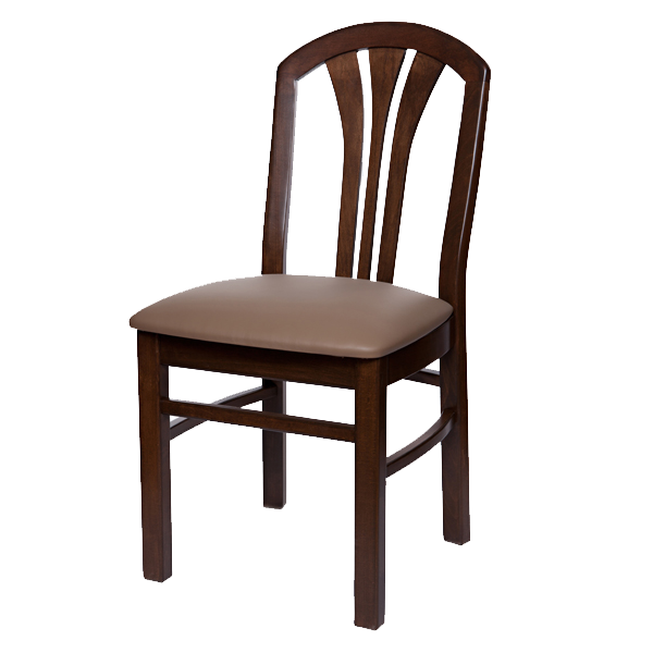 Classic Style Cabaret Side Chair With Upholstered Seat OD222US