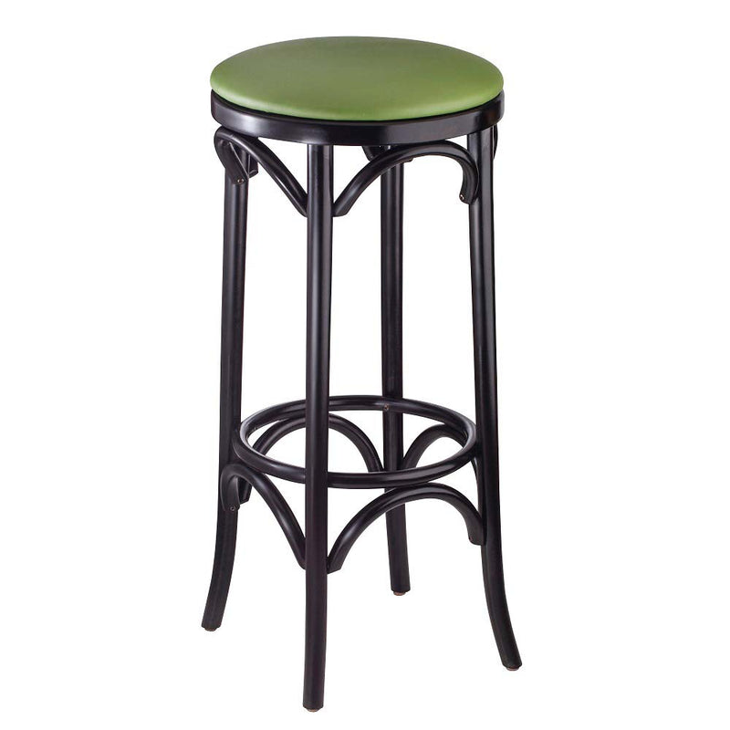 Bent Backless Bentwood Barstool