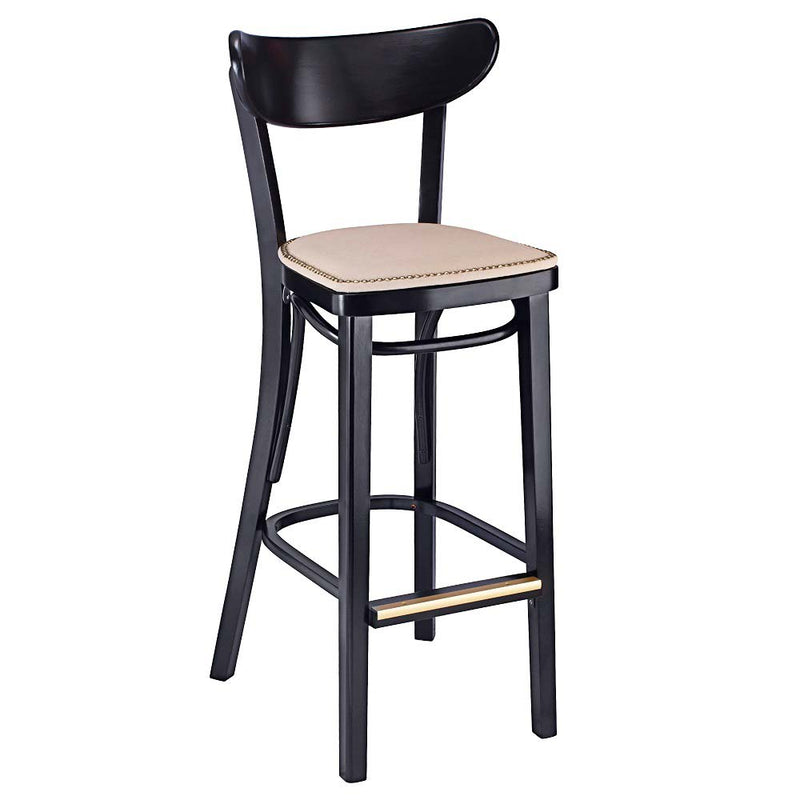 Bent Oval Bentwood Barstool